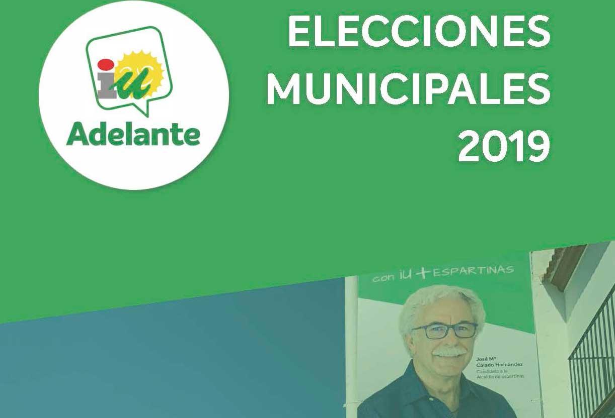 PROGRAMA ELECCIONES MUNICIPALES 2019